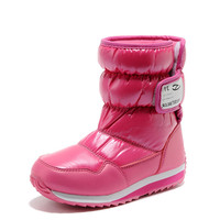 HOBIBEAR 2015 high quality waterproof winter ankle boot fashion children snow boot