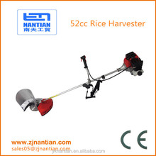 52cc rice harveter high efficiency mini rice harvester,mini rice cutter / paddy cutter