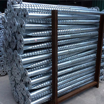 Solar Hot-dip galvanized steel ground screw