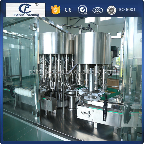 Accurate king syrup glass bottle filling capping machine with CE standard