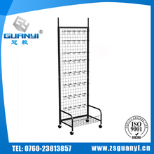 New Design Adjustable Good Quality Low Price Custom Printing metal shoe display rack
