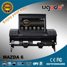 ugode old MAZDA 6 car radio with canbus