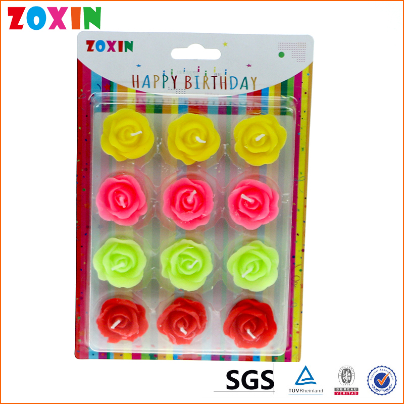 China price flower rose shaped candles