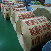 PET Film Laminated PE Kraft Paper in Roll for Food Packaging
