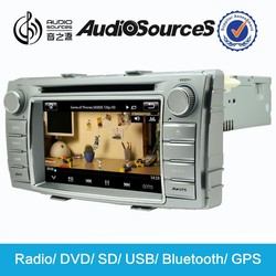 in dashboard car radio for Toyota Hilux car dvd with GPS navigation left hand drive