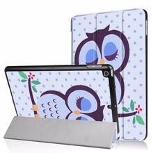 Colorful PU leather case for ipad 9.7 inch tablet pc cute cover for kids