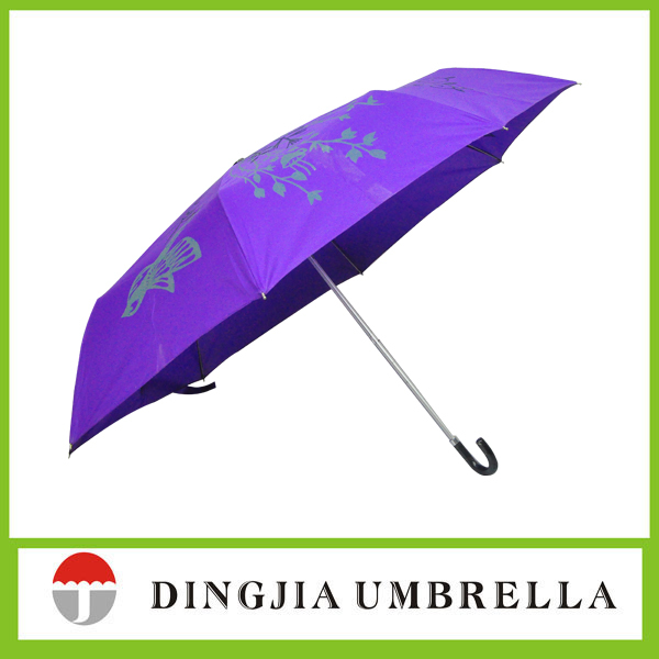 Easy open and close rain SHENZHEN 3 fold umbrella manufacturer