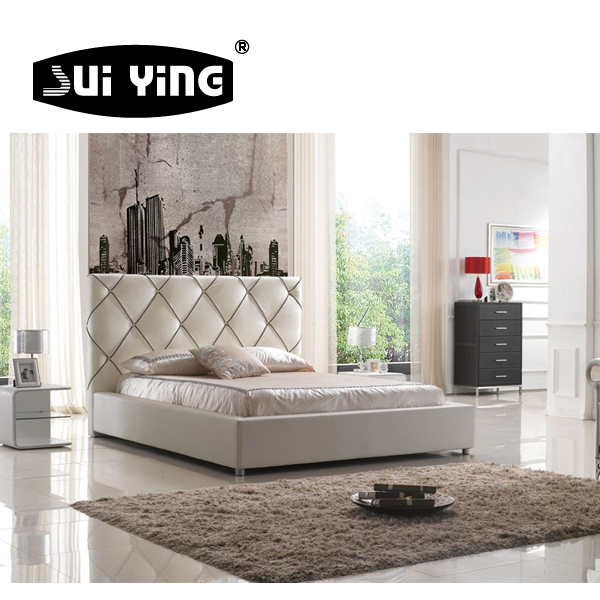 C007 NEW ARRIVAL high quality contemporary double bed