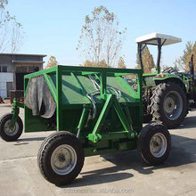 Tractor remolcable abono turner equipo