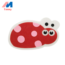 New products wool felt 3d educational craft diy toys with sticker