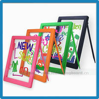 Write color rewritable colorful DIY kids erasable led drawing writing board educational toys