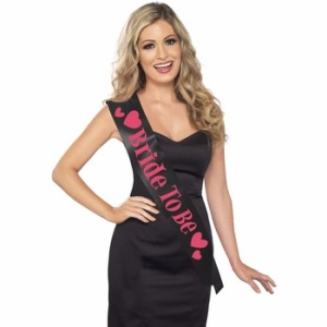 Hen Party Bride To Be Birthday Party Satin Sash