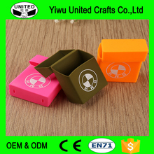 High quality printing logo silicone cigarette box pack cases
