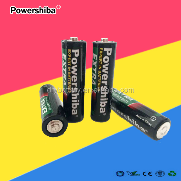 Low Price China Manufacturer Dry Battery R6 Battery 1.5V