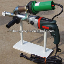 hand plastic extrusion welding gun for HDPE geomembrane install