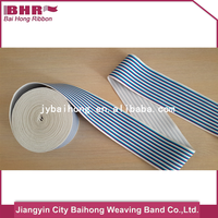 customed classical striped for safety belt webbing for boxer underwear