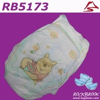 High Quality Free Samples Breathable Sleepy Baby Diaper Manufacturer with BD5173 from China