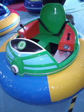 All Colors Available outdoor electric bumper cars with inflatable track for sale