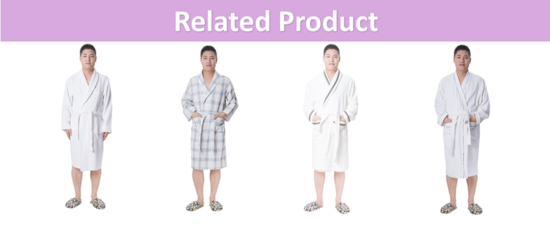 Hotel 100 Cotton Couples Terry Bathrobe Belt