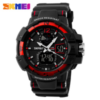 S shock resistant sports watch the best seller plastic digital model