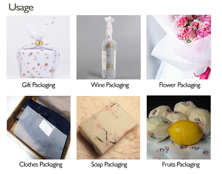 Packing material Tissue Wrapping Paper for flower and gifts