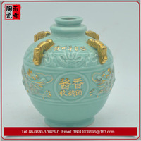 Blue dragon jars liquor Bottle made in china