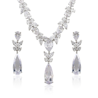 S-23 Dubai Gold & Silver color Jewelry Set, wedding jewellery designs jewelry