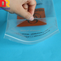 LDPE plastic printed medical specimen bag autoclavable biohazard bags