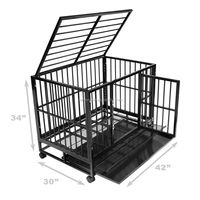 xxl large luxury square tube heavy duty dog cages