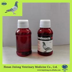Pharma Products Veterinary for Racing Pigeons Enrofloxacin Liquid