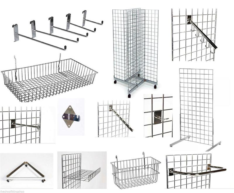 Ownace China Supplier Store Metal Wire Gridwall Panel Display