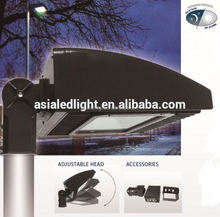 Slip fitter led parking lot lighting retrofit UL led street light led area/roadway lighter