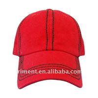 thick stitching cotton canvas hat