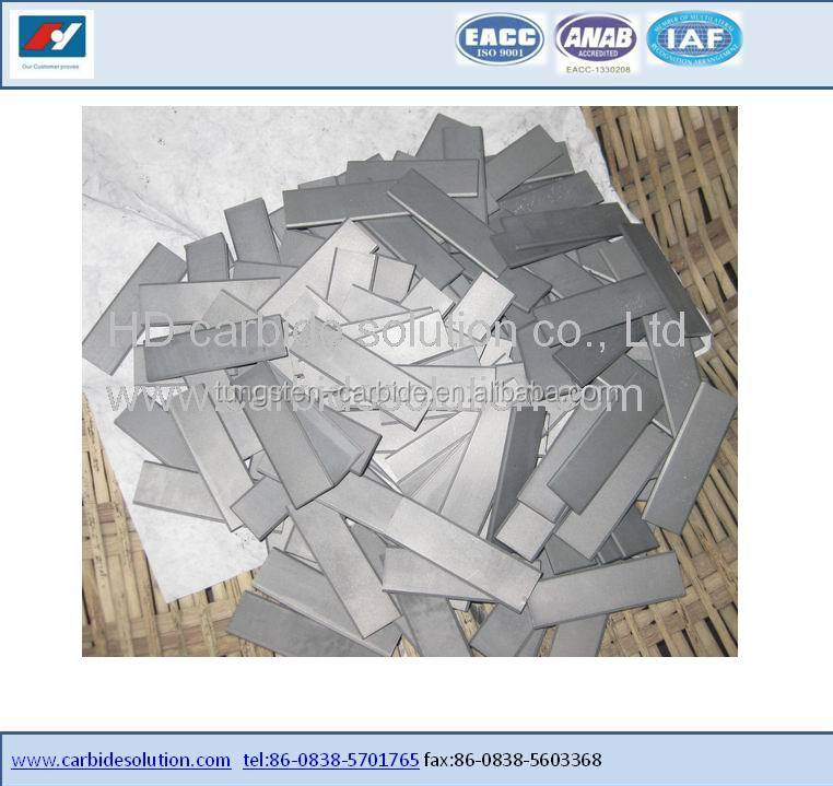 High Speed Tungsten Carbide Cutting blade for Fabric/Fabric Cutting <strong>inserts</strong> / Fabric cutting knife