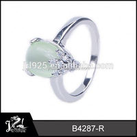 Excellent Design Mens  star opal ring