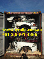 Half Cut Cars for Scrap, Engines, All Models Japanese, European, Australian.