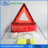 OP factory FDA CE ISO approved on sales outdoor vehicle roadside car emergency kit