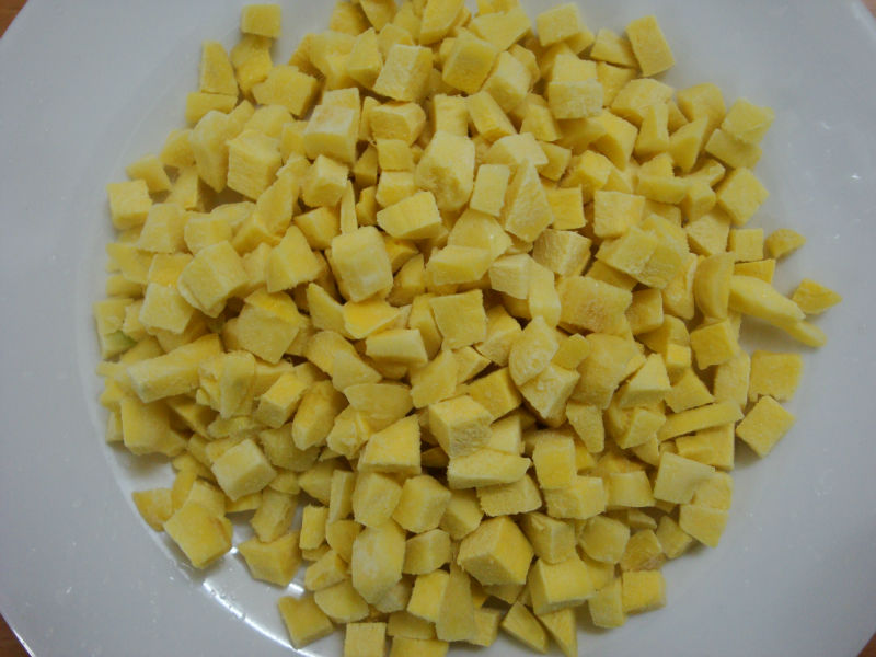 IQF Ginger cubes