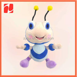 Special stuffed animal toys, big stomache plush bee for children