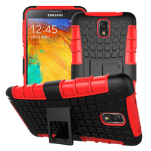 For Samsung Note 3 Case, 2in1 Rugged Armor Stand Shockproof with layer stand holder