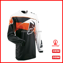 Motor Racing Shirts With Polo Collar Sublimation