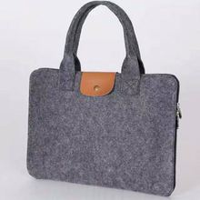 New fashion wool felt 17inch computer cover wholesale