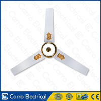 "Modern new design 12volt 56"" 30watts solar motor ceiling fan ceiling ducted ventilating fan"