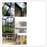 Agriculture Aluminum PC Greenhouse For Sale