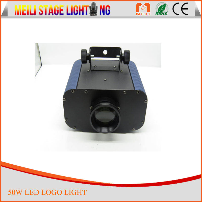 Guangzhou gobo light manufacturer 50w logo image led stage lightings pattern gobo projector