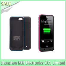 Geniune 2500mah battery case charger for iphone5 from best supplier