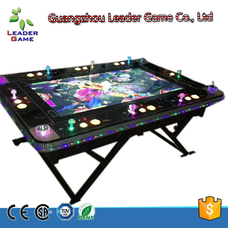 Fishing video table arcade game with motion handle Ocean Star Fishing