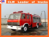 China manufacture DongFeng 4*2 antique fire truck 4*4 water foam fire truck for sale