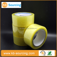 custom printed factory wholesale adhesive bopp tape / bopp hot melt packaging tape