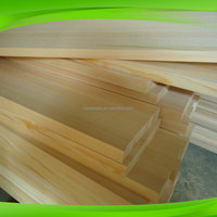 decorative paulownia wood panels for walls / low price